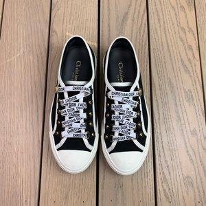Dior Jadior walk'n' black low cut sneakers